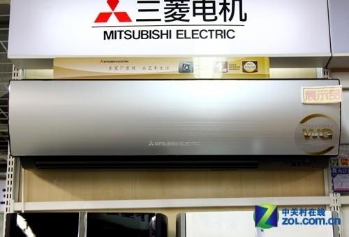 均匀制冷暖 三菱电机2.5p变频空调9800元