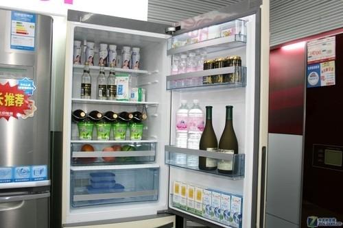 意式无霜风冷 卡萨帝三开门冰箱5980元