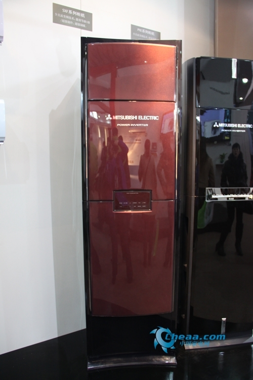 三菱电机SXF新品变频柜机家博会精彩图赏