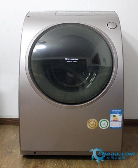 相反三洋斜式滚筒洗衣机xqg60-l932s和普通的滚筒