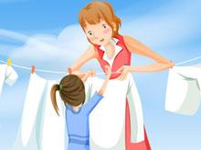 自己的衣服自己洗 儿童节不让妈妈操心