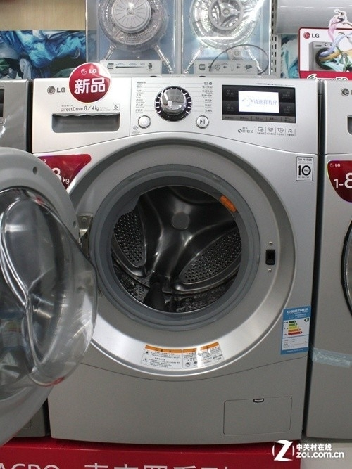急速烘干系统 lg洗衣机亚马逊售4399元