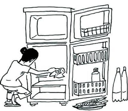 有时我们经常打开冰箱会有异味扑面而来
