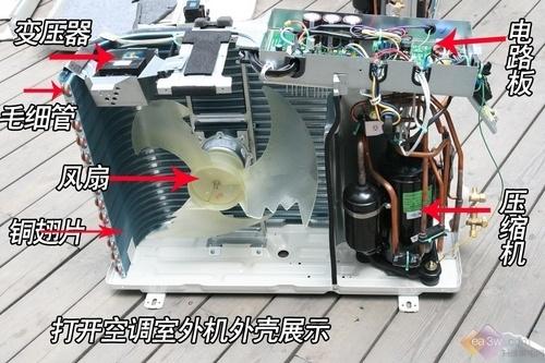 格力大金空调拆解对比