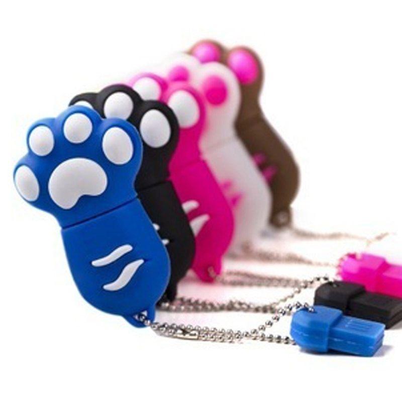 可爱猫爪u盘,可爱的造型,还很实用.8g容量