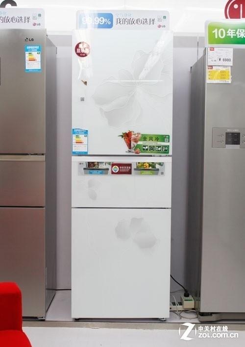 99%净味除菌 lg三开门冰箱售价6978元