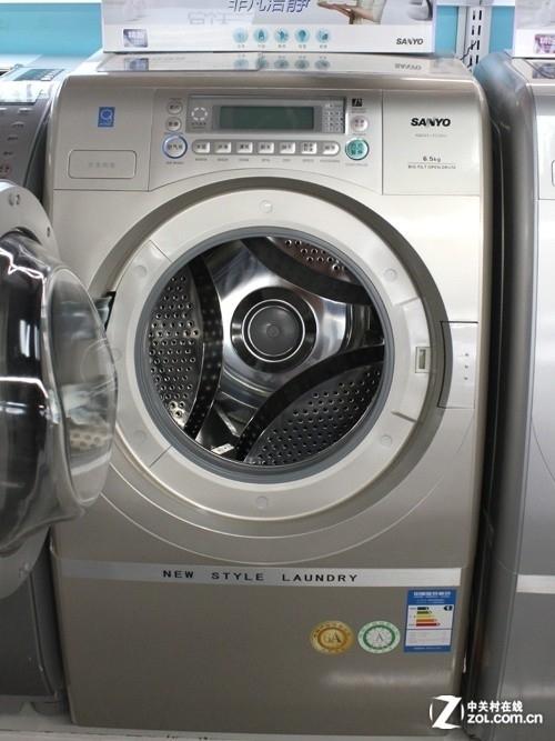 智能变频更节能 三洋滚筒洗衣机1899元