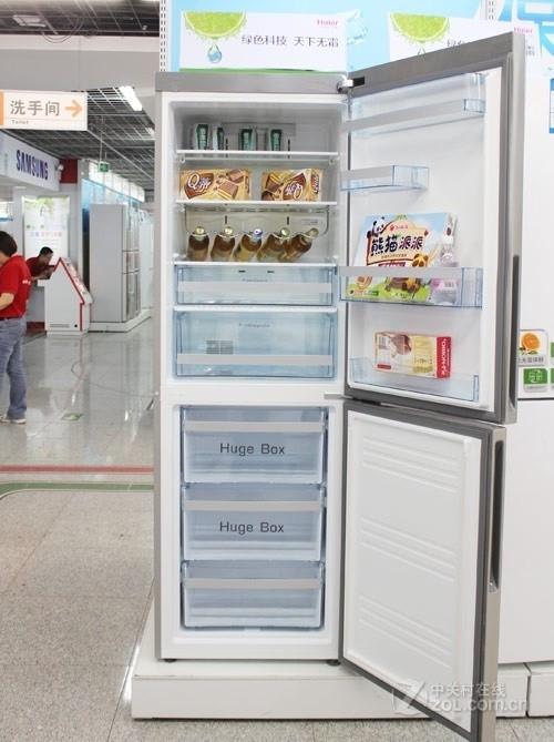 双开门也全能 海尔变频冰箱京东3999元