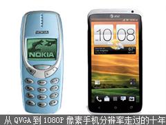 从qvga到1080P像素手机分辨率走过的十年