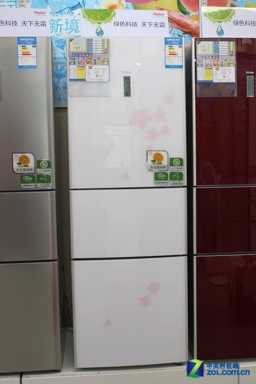 全方位风冷技术 海尔三开门冰箱5139元