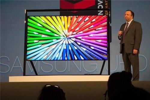8K分辨率 三星发布超高清液晶电视
