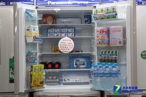 全风冷不结霜 松下多开门冰箱17980元