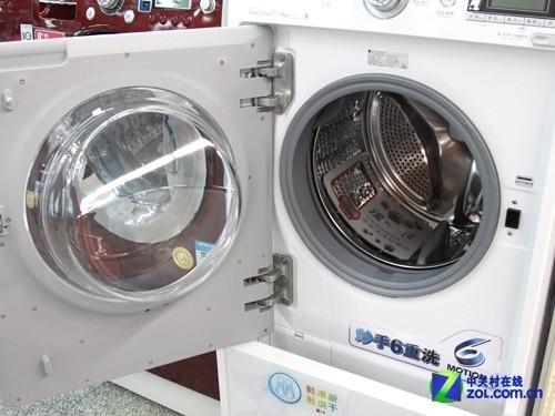支持鞋烘干功能 lg滚筒洗衣机18774元