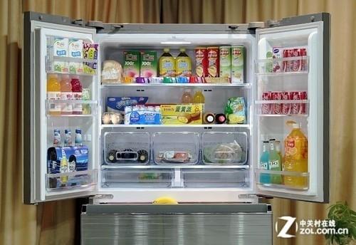 进口变频产品 三星多开门冰箱16999元