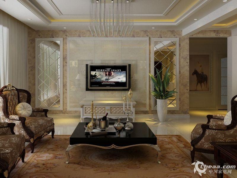 家居装修焦点 客厅背影墙效果图参考