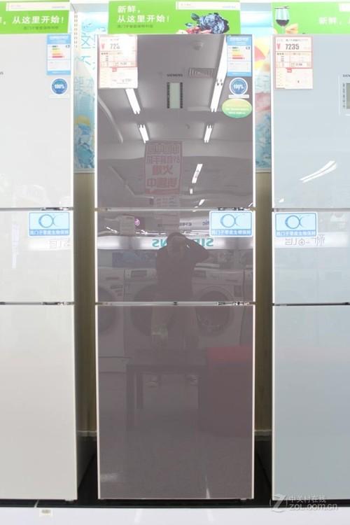 双动态冷却 西门子三开门冰箱售7235元