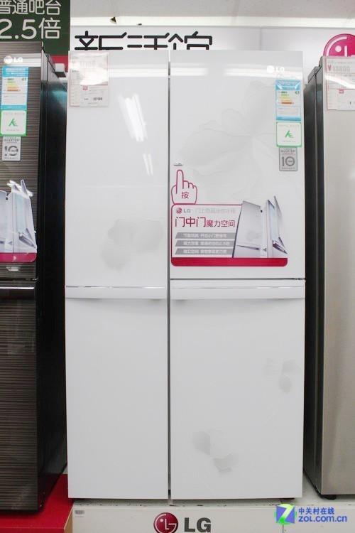 ECO创意储存空间 LG对开门冰箱17100元