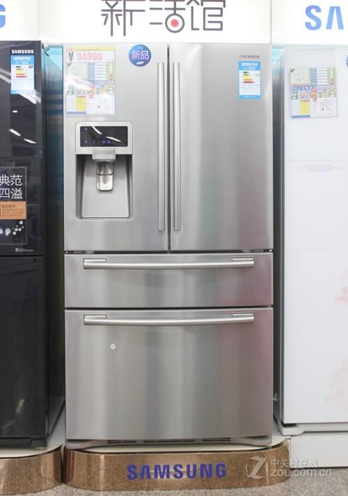 保湿循环独立制冷 三星多门冰箱24900元