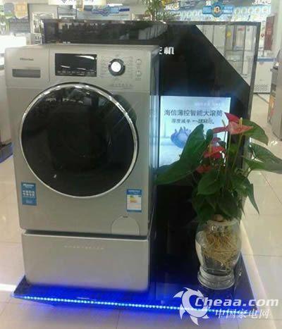 洗衣机二次污染 拆机清洗4次等于一台钱