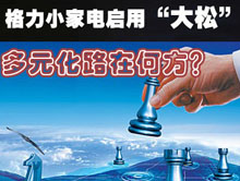"""格力小家电启用""""大松""""多元化路在何方?"""