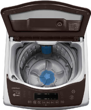 洗衣机的自洁功能可以洗净洗衣机的内筒