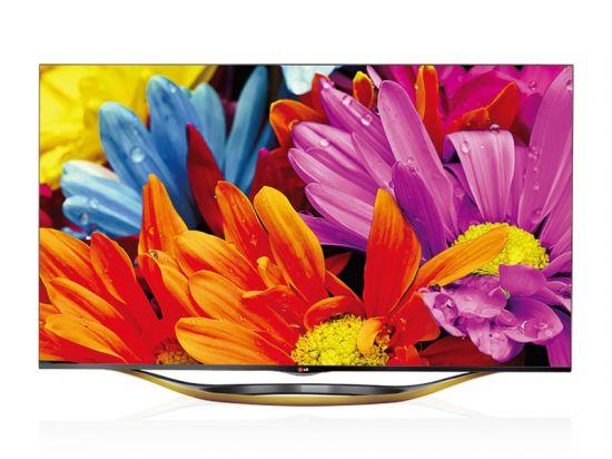 1080p无边框电视 lg 55ga7800报8200元