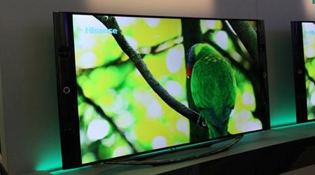 海信曲面屏幕电视