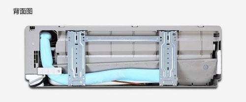 奥克斯 kfr-35gw/sqb 3空调采取内喷覆膜工艺和高亮度abs抛光面板