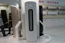 海信展出的空气净化器产品图