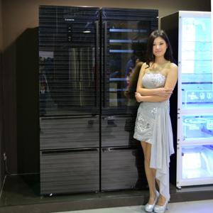 卡薩帝高端冰箱華美亮相