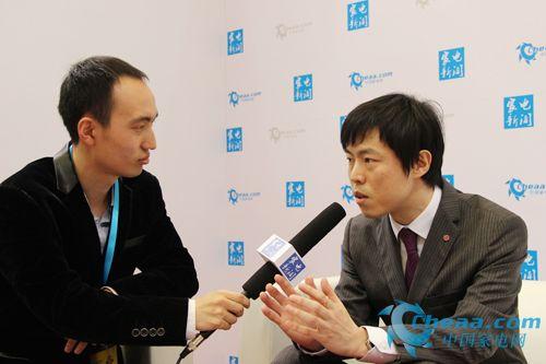 LG电子黑电市场部总监朴溟吉接受中国家电网采访