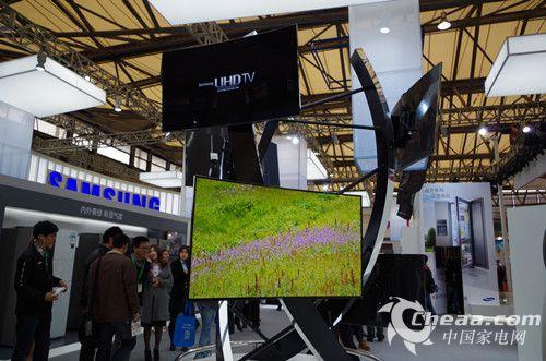 AWE2014三星展出的曲面电视产品(图)