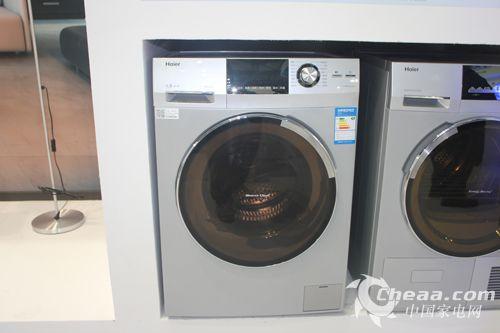 海尔双喷淋自清洗滚筒洗衣机xqg80-hbd1626