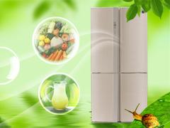 诠释健康保鲜 夏普中央对开门冰箱评测