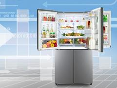 空间科学缔造非凡冰箱  LG4+1门冰箱评测