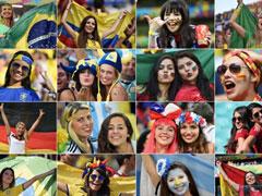"""""""胸""""态百出 看看那些世界杯豪放女球迷"""