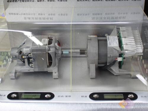 滚筒电机结构图