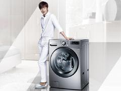 """洗衣机""""晒""""被子 LG19kg大容量洗衣机评测"""