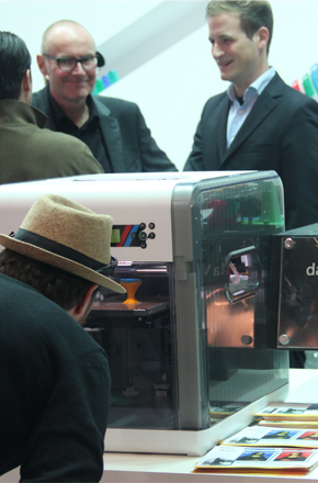 IFA2014消費電子展新亮點:3D打印技術