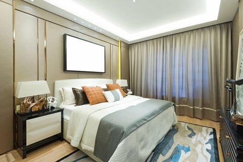 背景墙 房间 家居 酒店 起居室 设计 卧室 卧室装修 现代 装修 500_33