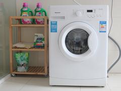 超凡去污能力 海信滚筒洗衣机权威评测