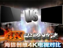 谁是4K之王? 海信创维4K电视对比评测-中国家电网