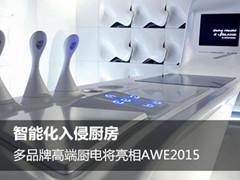智能化入侵 多品牌高端厨电将亮相AWE2015