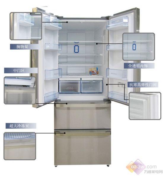 2014最新上市 海信多门冰箱仅售4787元