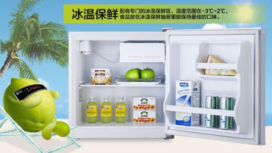 该款冰箱内部结构设计简单,日常易于清理.
