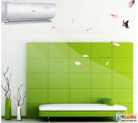能除PM2.5 海尔1.5P空调京东促销中