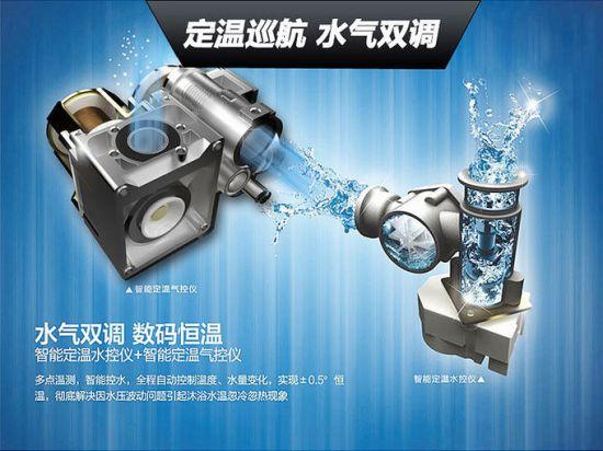 智能分段燃烧技术 万家乐燃气热水器新品