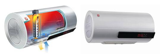 樱花电热水器更有系统集成自动断电保护