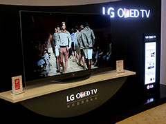 4K曲面OLED领衔 AWE2015玩转LG展台