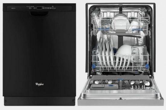 美泰克的母公司惠而浦也拥有一款非常出色的洗碗机,名叫Gold Series Front Control。这款洗碗机的洗涤容量可达15套,运行声音为49分贝,并提供了无缝的洗涤程序选择和易用的电子控制。在每一次洗涤期间,这款洗碗机会使用惠而浦的AccuSense污迹传感器来分析碗盘数量和脏污程度,以精确地调整到最适合的洗涤和烘干设定。此外,它的TotalCoverage喷淋臂和Target Clean选项可以搞定脏污程度严重的碗盘,无需用户进行预泡或手动清洁。   KitchenAid KDTE104